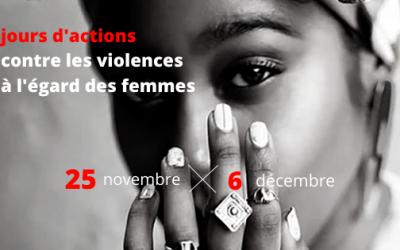 12 jours d'action contre les violences à l'égard des femmes